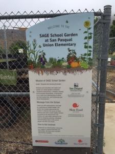 San Pasqual school garden