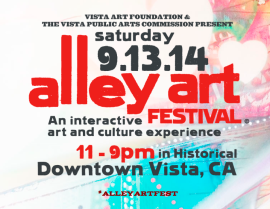 Vista Alley Art Festival
