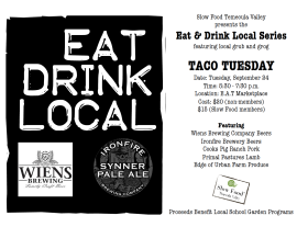 Taco Tuesday, Eat, Drink Local
